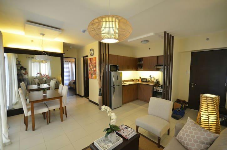 2BR HOTEL/RESORT-LIKE AMBIANCE CONDO - Muntinlupa - Apartment