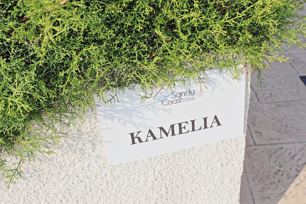 Villa's name label