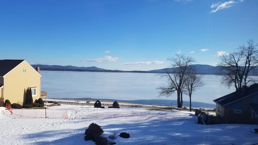 Ossipee Lake Condo Winter Hideout - Ossipee - Kondominium