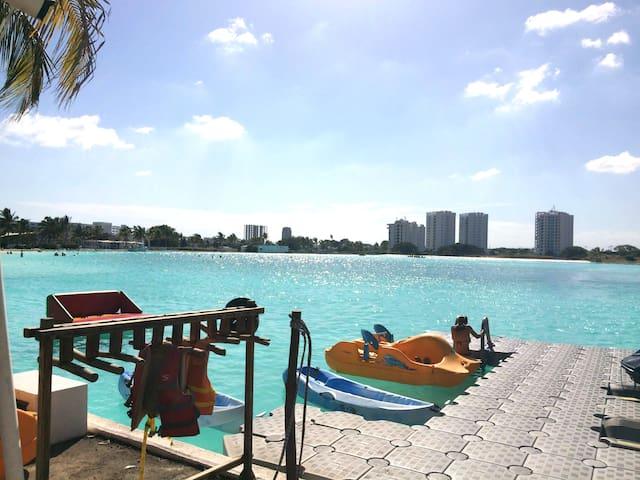 Apartamento  vista piscina mas grande de Panamá - Río Hato - Apartemen