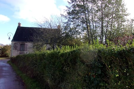 Une maison d'autrefois dans la nature