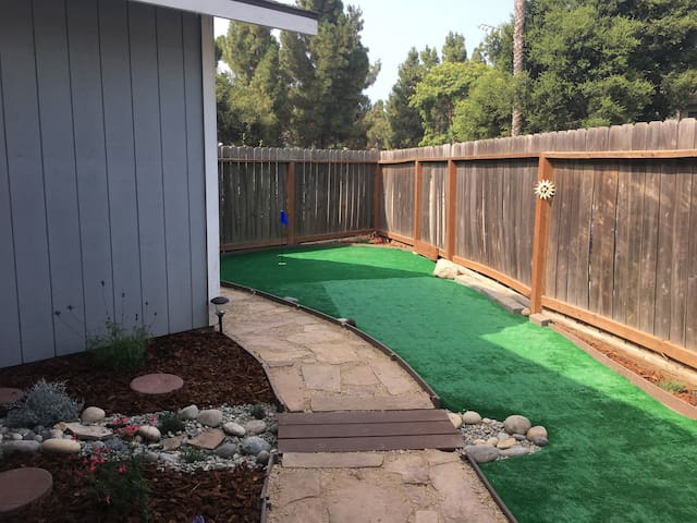 Reduced January rates-with added mini-golf hole!