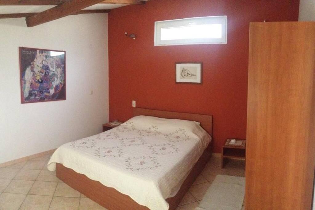 Bedroom after redecoration