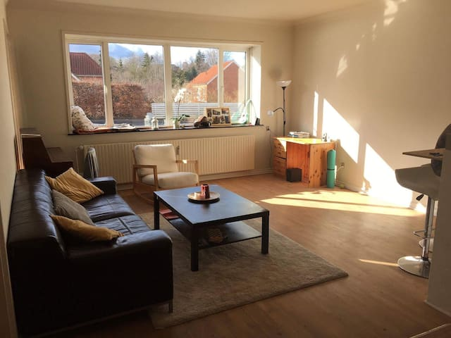 Spacious and cozy apartment in great location - Højbjerg - Leilighet