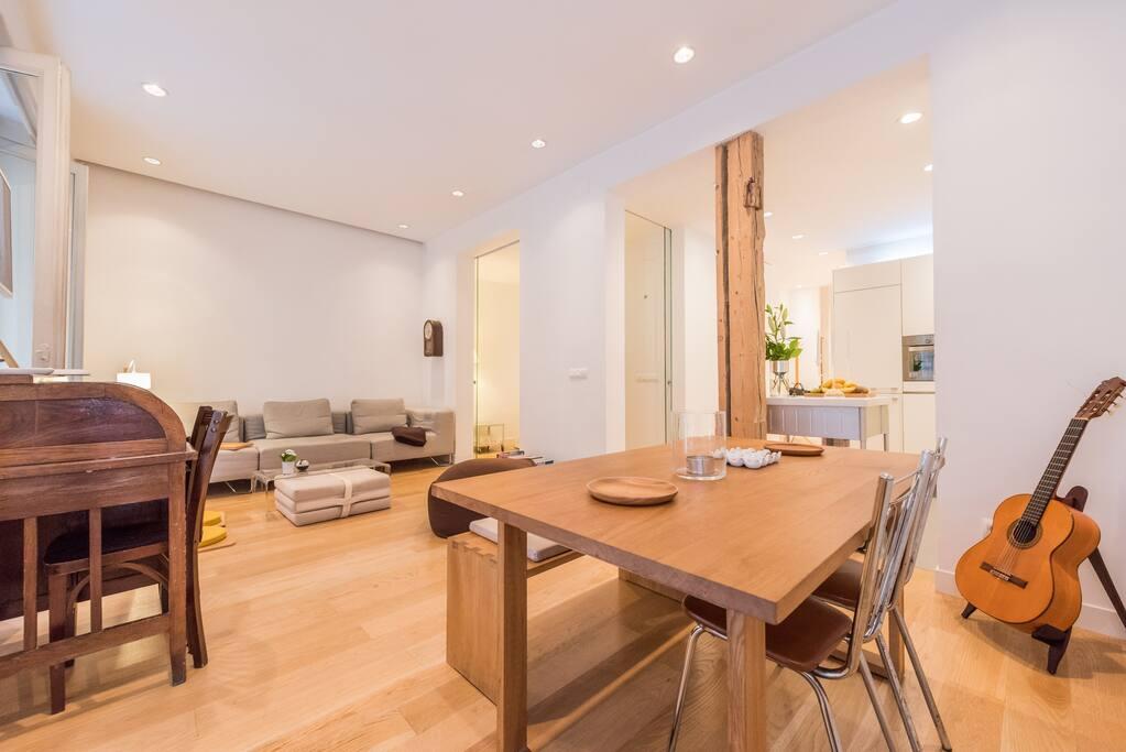 Moderno piso en chamber apartamentos en alquiler en - Pisos modernos madrid ...