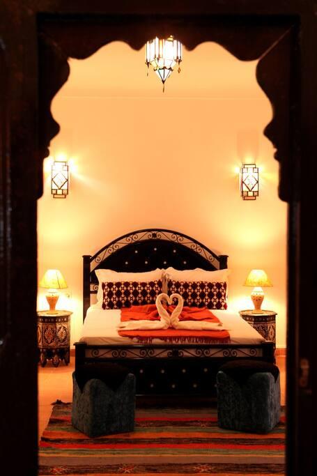 Exclusivity riad mounir chambres d 39 h tes louer for Chambre d hotes marrakech