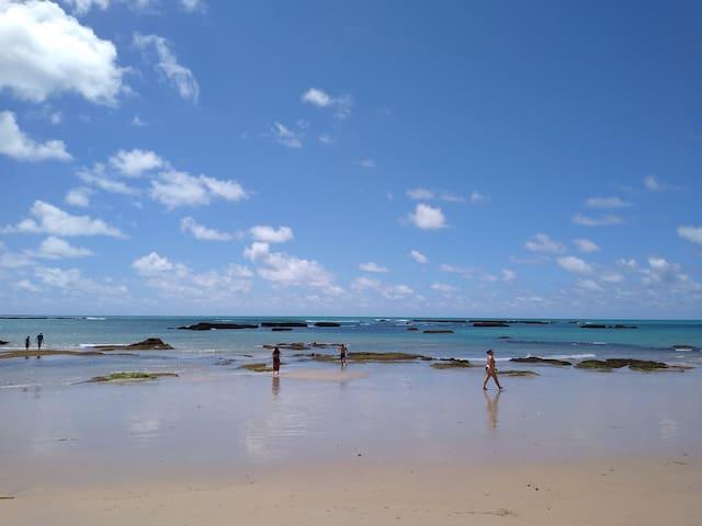 Maceió Alagoas,praia de  guaxuma,lindo bangalô.