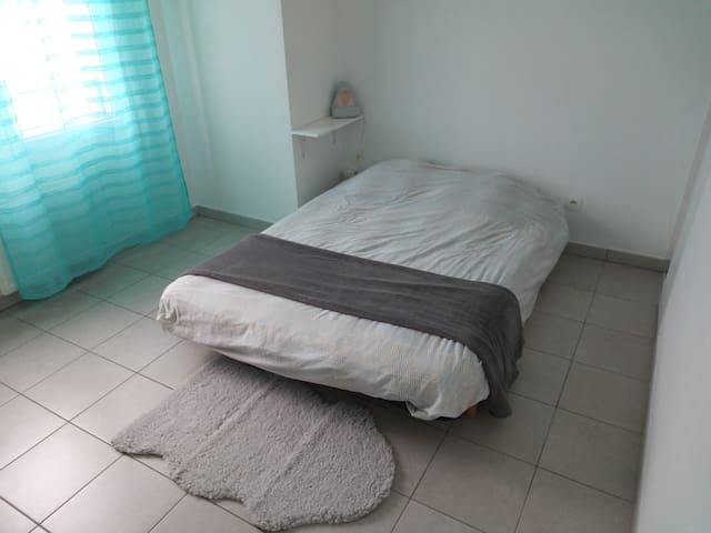 Chambre indépendante dans duplex avec terrasse - Lyon-7E-Arrondissement - Apartamento