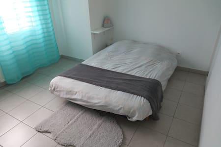 Chambre indépendante dans duplex avec terrasse - Lyon-7E-Arrondissement - 公寓
