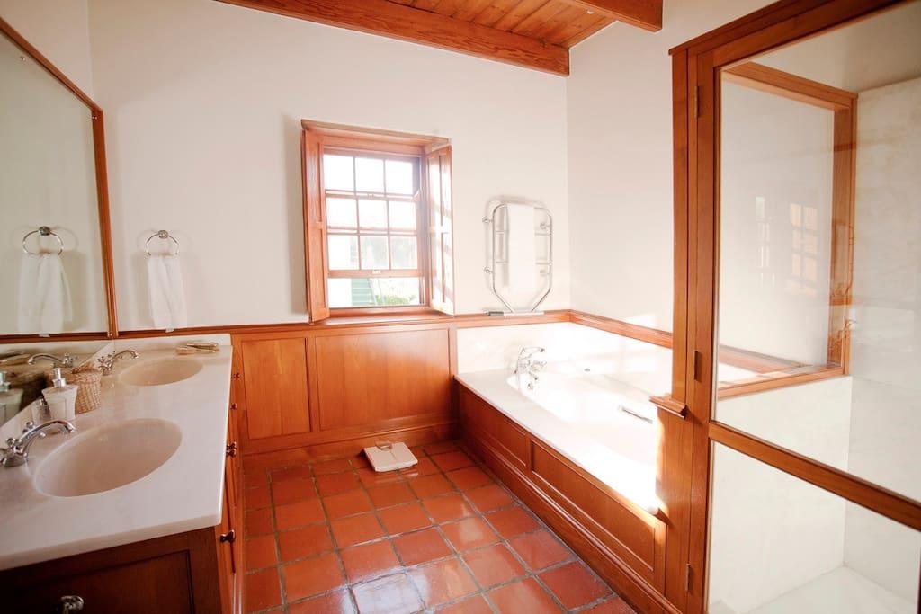 Badeværelset tilhørende præsident suiten