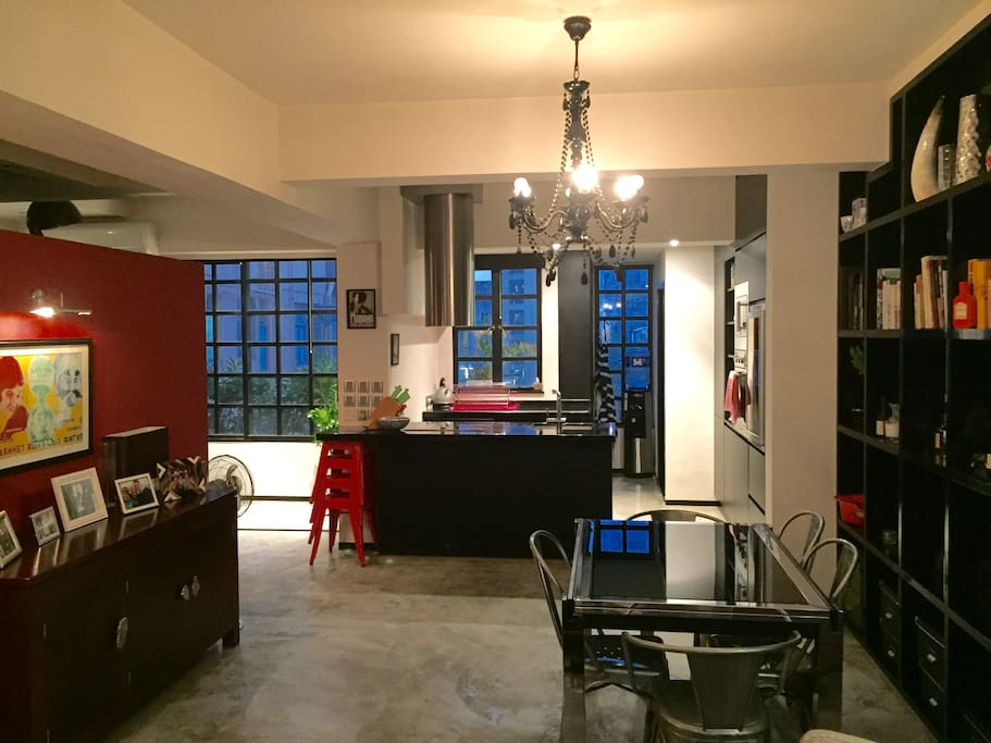 Stylish Warehouse Studio Apartments For Rent In Hong