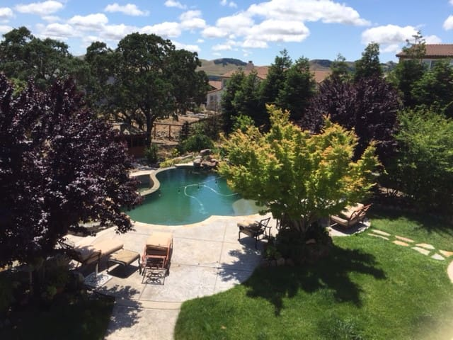 Vacation Sanctuary With Magnificent Views - Fairfield - Hus