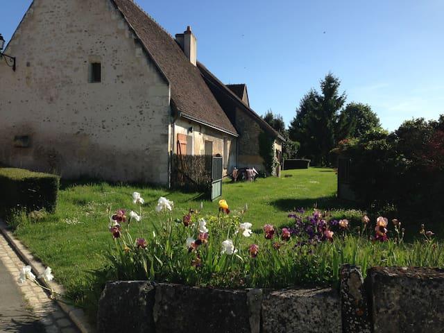 Maison de pierre - un grand jardin - Villavard - Casa