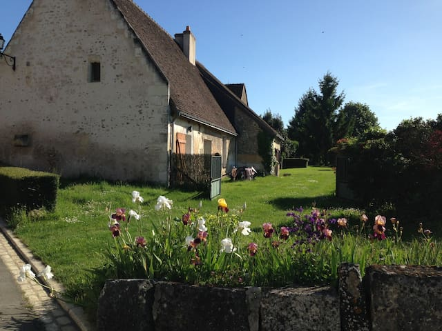 Maison de pierre - un grand jardin - Villavard - Hus