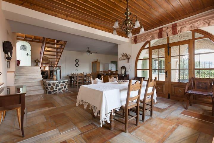 Mediterranean Villa w/ Artisan Details.