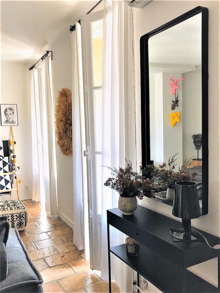 L'Îlot Secret - Appartement terrasse, Nîmes centre
