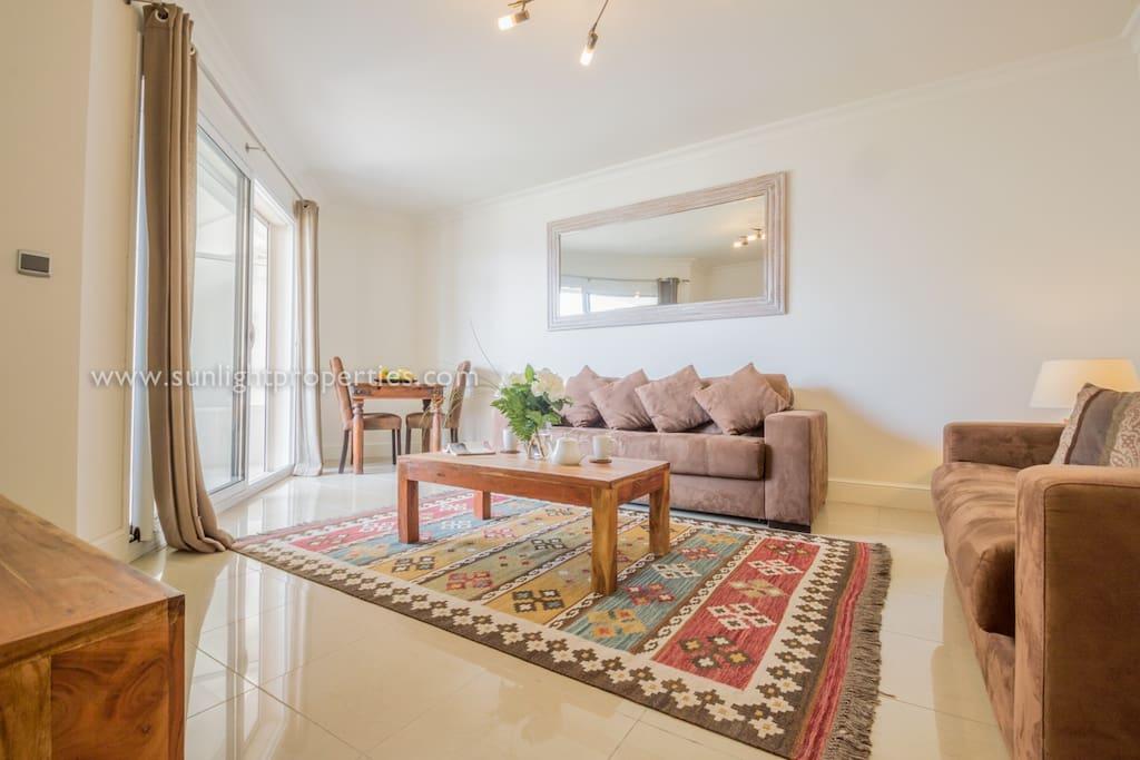 Living area area.