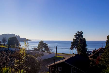 3th floor room with amazing view next to the lake - Puerto Varas - 獨棟