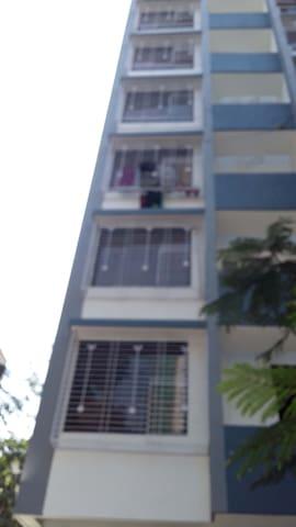 12 Storey Tower Apartment Exterior
