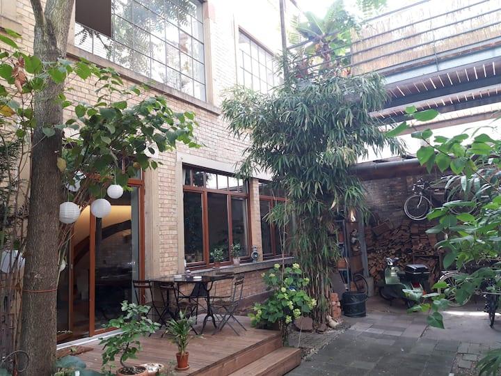 Historisches und individuelles Wohnen im Loft