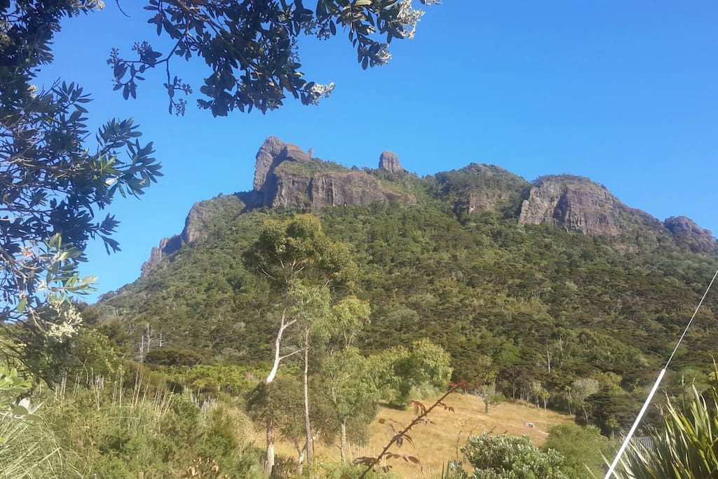 Mt Manaia with great walking track and exceptional views.