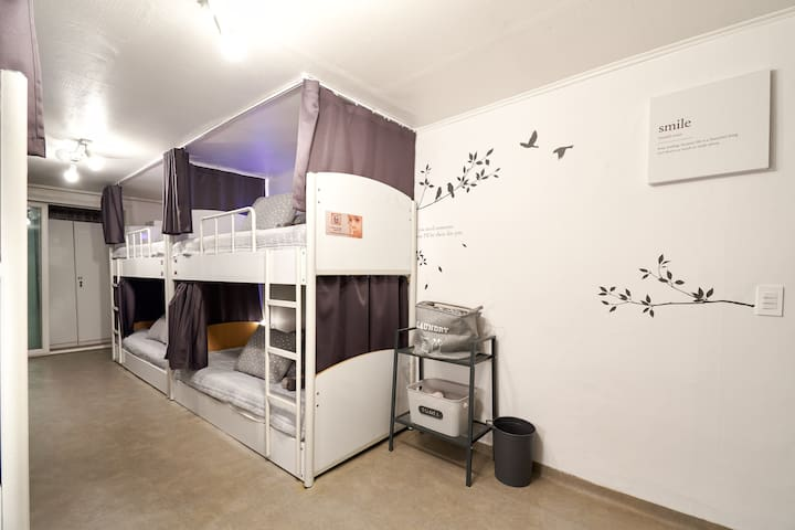 ★NEW★ JunGuesthouse(Hongdae/弘益大学) #8-Female dorm