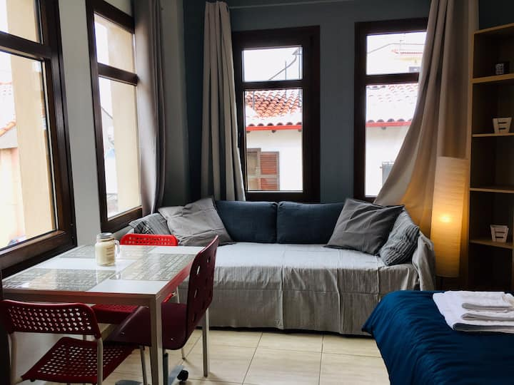 1-3 persons Studio Ano Poli (city center)