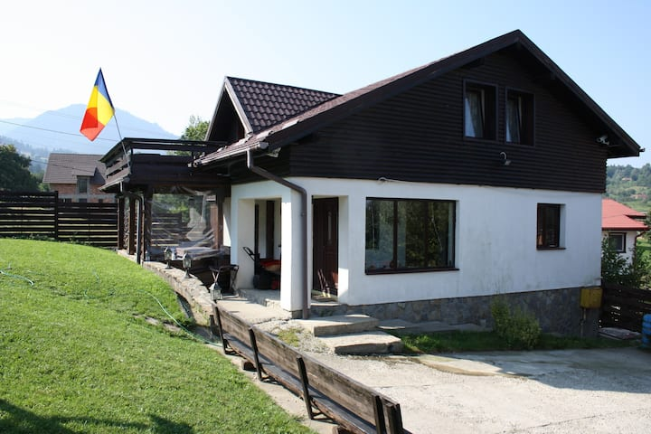 Charming Chalet in Bran, City of Dracula's Castle