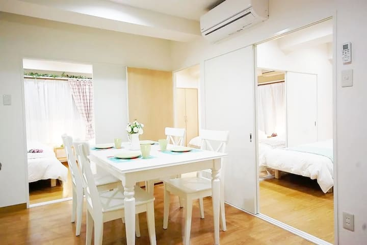 E) 4min walk Ikebukuro/ 6BEDS/ 56sqm /Freewifi