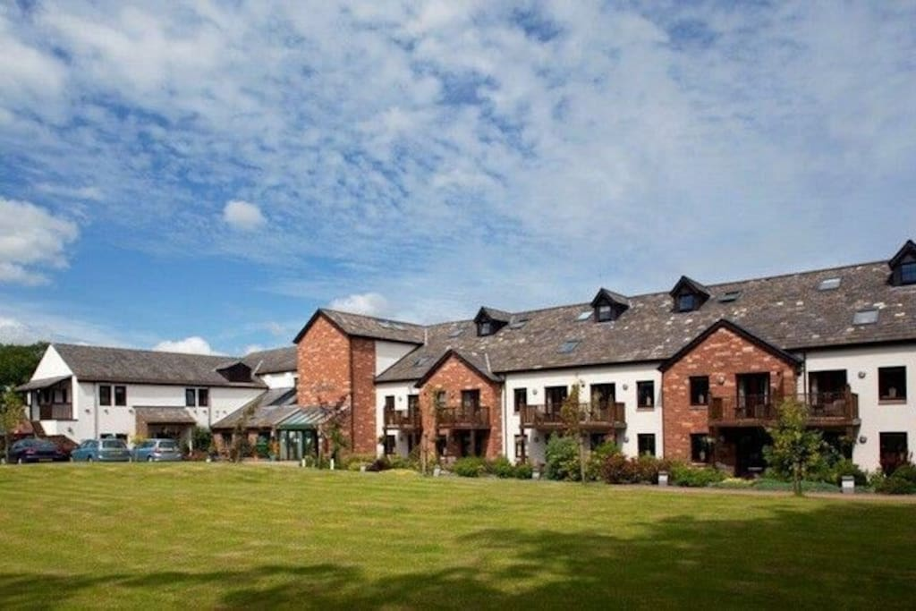 Ullswater Suite, Whitbarrow Holiday Village, Exterior, Lakes Cottage Holidays