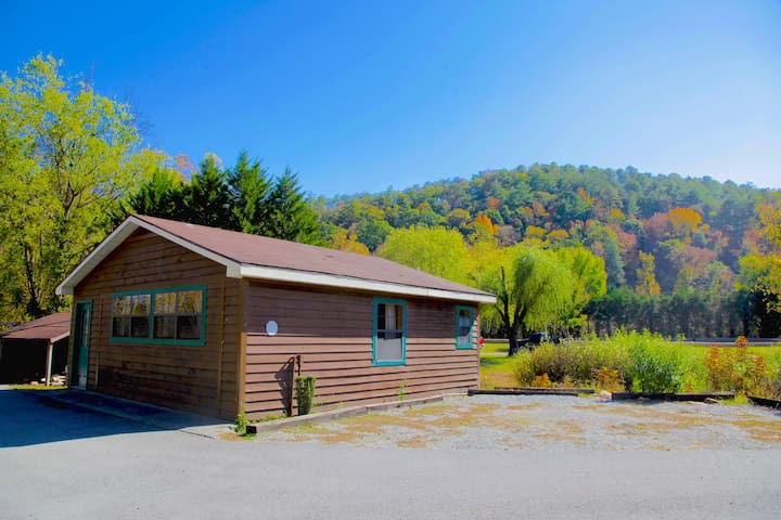 Guest house with creek access