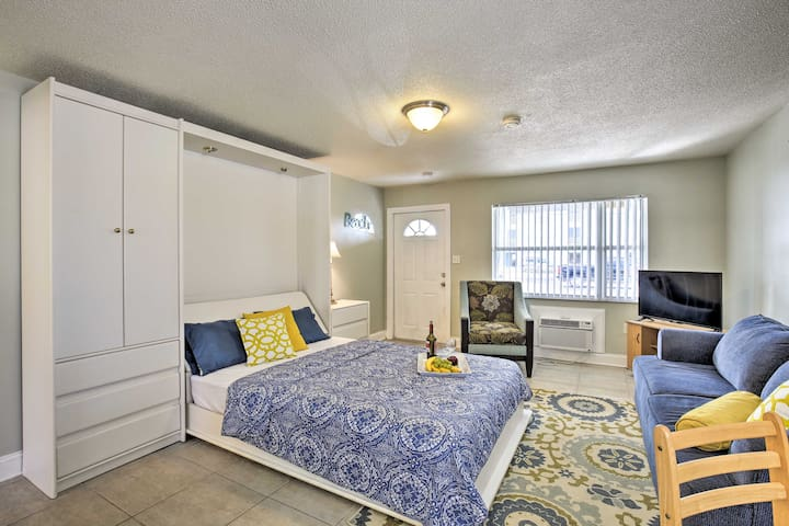 NEW! Pet-Friendly Studio - Steps to Madeira Beach!
