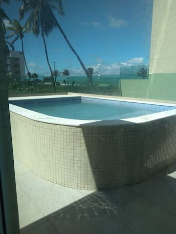 Apartamento - 1 andar com piscina privativa