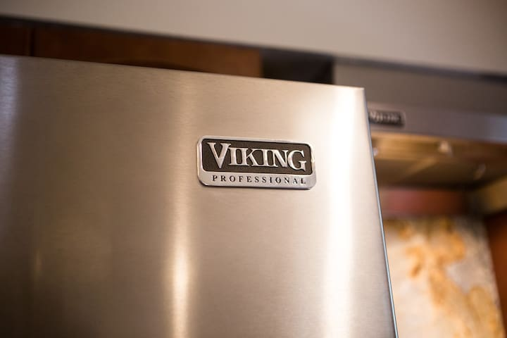 Viking appliances. (this is the refrigerator).