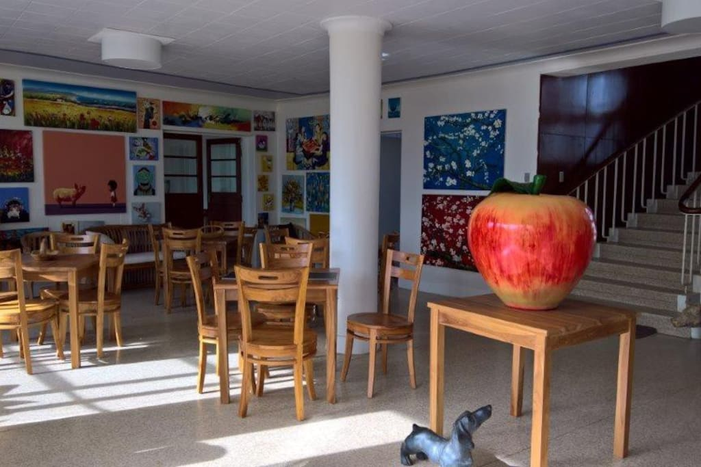 Our Lobby Lounge, with free WiFi, in the Main Building