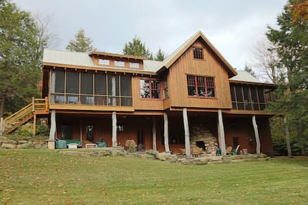 Algonac - Luxury Timber Lodge in Eagles Mere PA