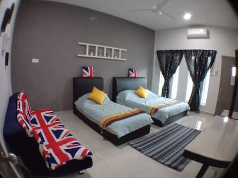 AVENUE HOMESTAY 5 Room 4 Toilet 4 MINUTES TO TOWER