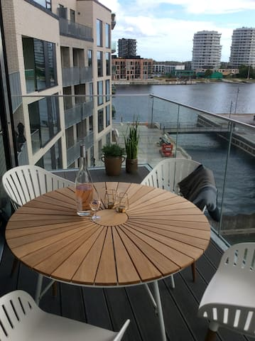 New and modern apartment at Copenhagen Harbour