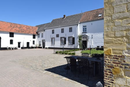 Luxe prive-kamer in carre-boerderij Zuid-Limburg
