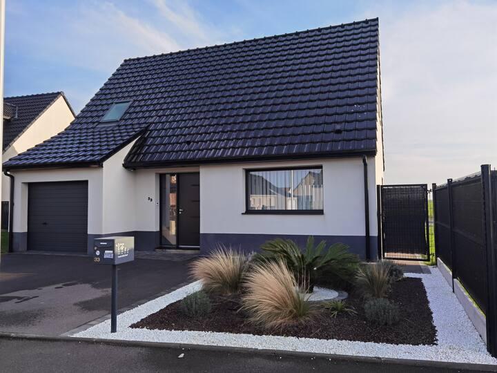 Sailly-Labourse: Maison moderne ds résidence calme