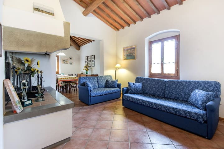 Farmhouse 15 minutes from Florence, free wifi - Reggello