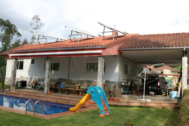 Villa with 4 bedrooms in Tui, with wonderful mountain view, private pool and enclosed garden