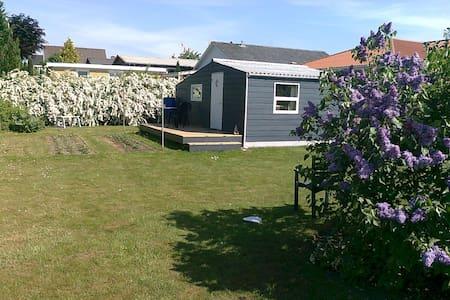 Træhus i stor have