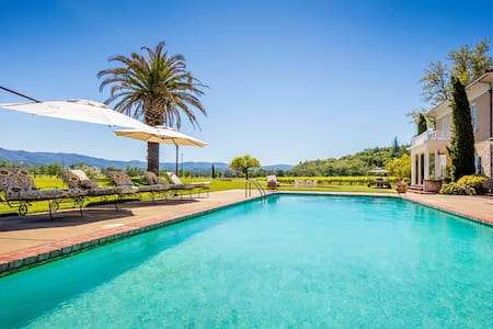 Jeriko House, your wine country oasis awaits you! - Hopland - Haus