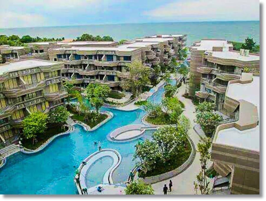 Baan San Ngam Beach Front Condominium