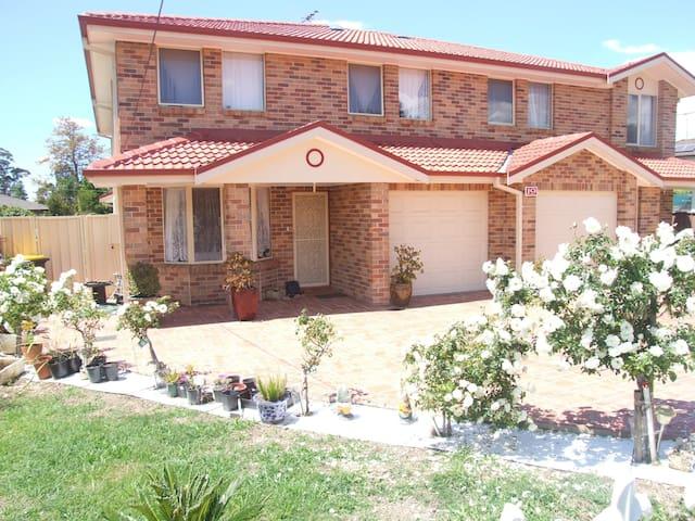 Modern brick/veneer  home.