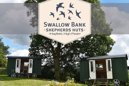 Swallow Bank Shepherds Huts, High Peak. Hut 1