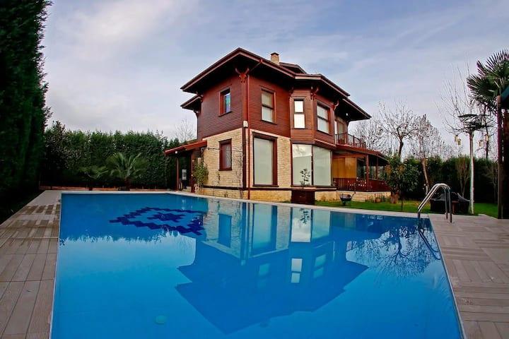 İpekyolu Müstakil Özel Havuzlu İzole Villa