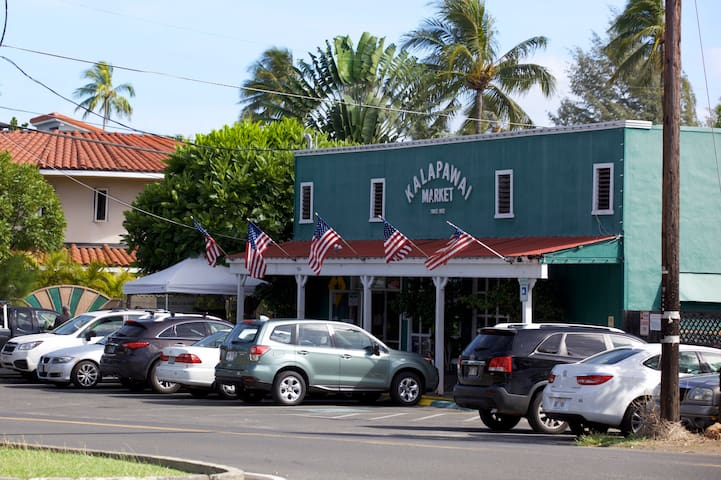 Historic market in Kailua since the 30s just up the street