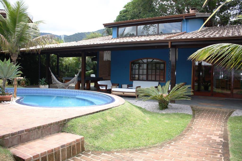 Maloquinha itamambuca a mais charmosa de ubatuba casas for Piscinas desmontables aki